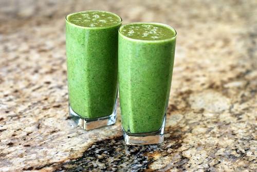 3 őszi zöld turmix recept