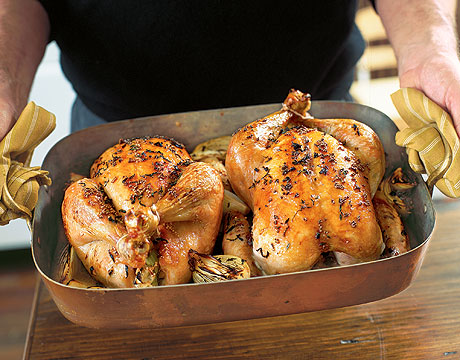 Töltött csirke recept