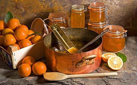 Narancsdzsem recept