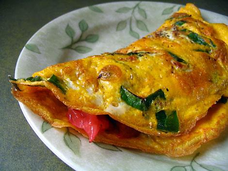 Gyors omlett recept  reggelire